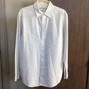 Men's banana republic button down dress shirt md